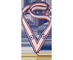 """Лента для медали """"Футбол"""" 0021-019-00Ф"""