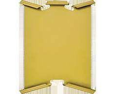 Металлический диплом  1530-155-100